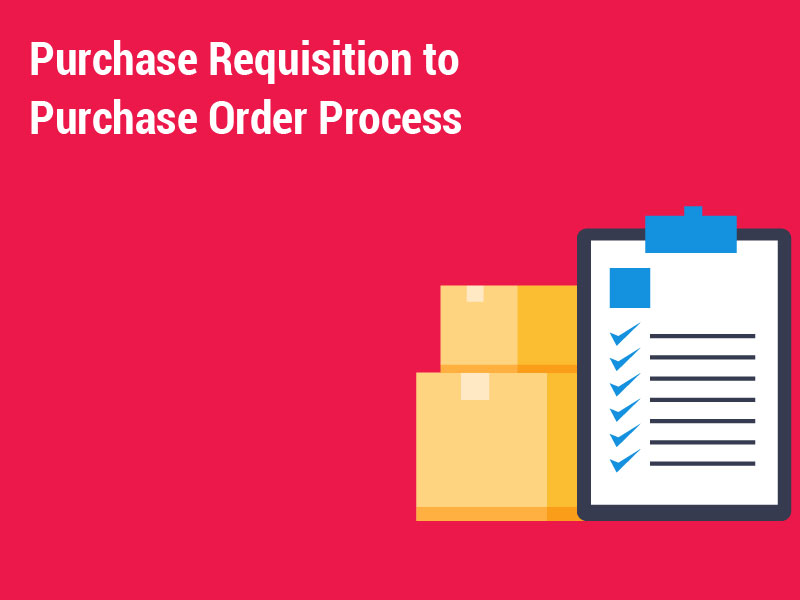 Purchase Requisition to Purchase Order Process